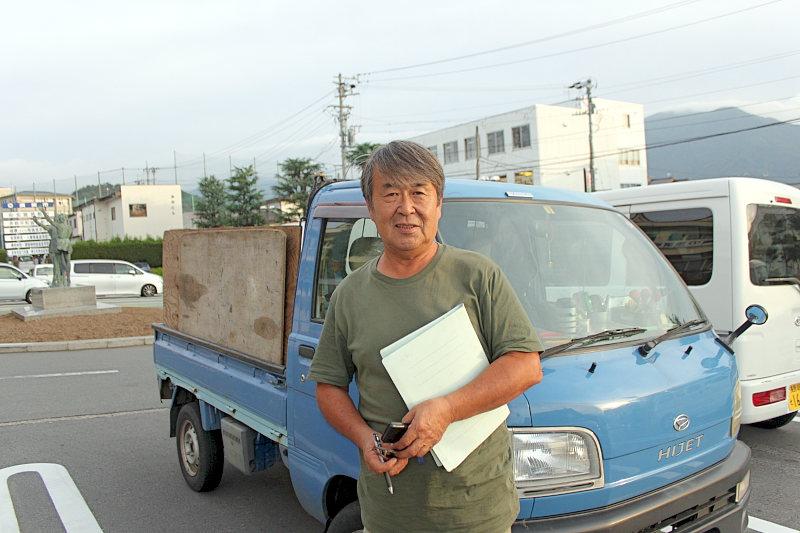 勝山敏男さん