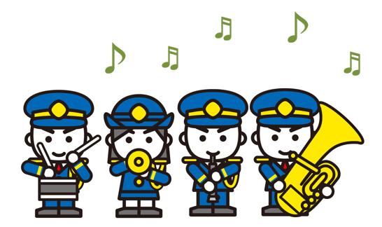 消防団音楽隊イメージ画像